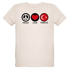 Peace Love Turkiye T-Shirt