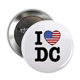 "I Love DC 2.25"" Button"