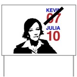 Julia 10 Yard Sign
