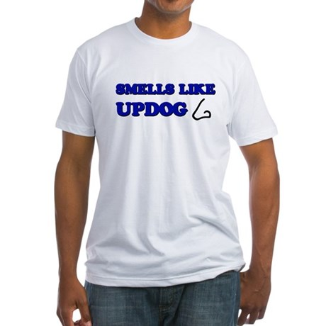 Smells Like Updog Fitted T-Shirt