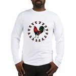 Rooster Circle Long Sleeve T-Shirt