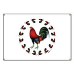 Rooster Circle Banner