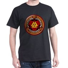 Red Viking Runes T-Shirt