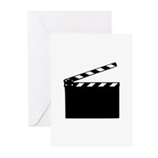 Movie - clapperboard Greeting Cards (Pk of 20)