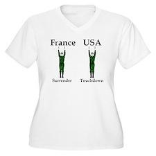 France vs USA T-Shirt