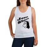 Jesus Shaves Women's Tank Top