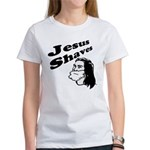 Jesus Shaves Women's T-Shirt