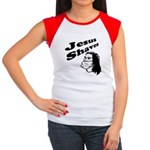Jesus Shaves Women's Cap Sleeve T-Shirt