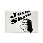 Jesus Shaves Rectangle Magnet (100 pack)