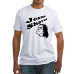 Jesus Shaves Fitted T-Shirt