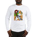 Five Pigeons Long Sleeve T-Shirt