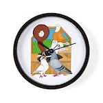 Five Pigeons Wall Clock