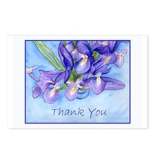"Iris Vase ""Thank You"" Postcards (Package of 8)"