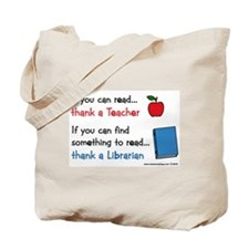 Teacher...Librarian Tote Bag