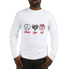 Cute 60th party Long Sleeve T-Shirt