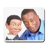 Cute Ventriloquists Mousepad