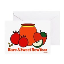 Jewish Sweet New Year Greeting Card