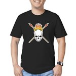 Skull Archery Men's Fitted T-Shirt (dark)