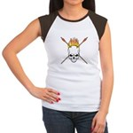 Skull Archery Women's Cap Sleeve T-Shirt