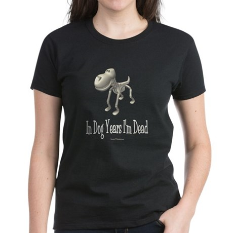 In Dog Years Women's Dark T-Shirt