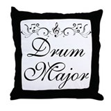 Stylish Drum Major Throw Pillow