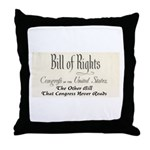 Bill of Rights Throw Pillow