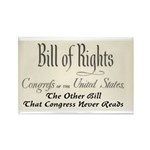 Bill of Rights Rectangle Magnet (100 pack)