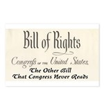 Bill of Rights Postcards (Package of 8)
