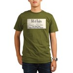 Bill of Rights Organic Men's T-Shirt (dark)