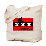 Amsterdam Cycling Male Tote Bag