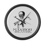 Manitou Islands Large Wall Clock