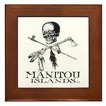 Manitou Islands Framed Tile