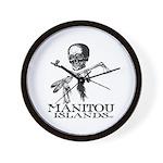 Manitou Islands Wall Clock