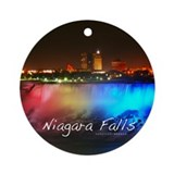 Niagara Falls Ornament (Round)