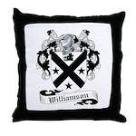 Williamson Family Crest Throw Pillow