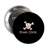 Pirate Chick 2.25&quot; Button