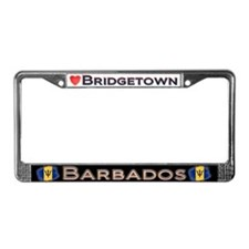 Bridgetown, BARBADOS - License Plate Frame