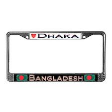 Dhaka, BANGLADESH - License Plate Frame