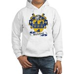 Whitehead Coats or Arms Hooded Sweatshirt