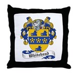 Whitehead Coats or Arms Throw Pillow