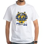 Whitehead Coats or Arms White T-Shirt