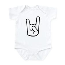 Rock Hand Infant Bodysuit