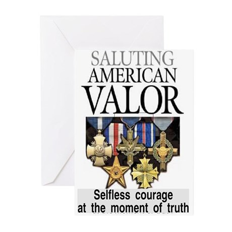 AMERICAN VALOR Greeting Cards (Pk of 20)