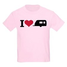 I love camping - trailer T-Shirt