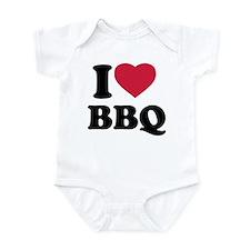 I love BBQ - Barbecue Infant Bodysuit