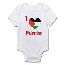 I Love Palestine #5 Infant Bodysuit