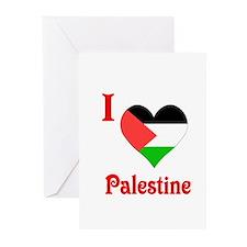 I Love Palestine #5 Greeting Cards (Pk of 10)