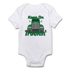 Keep On Truckin Infant Bodysuit