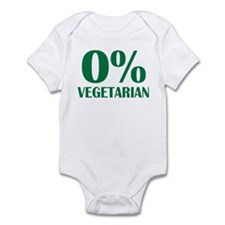 Meat - BBQ - 0% Vegetarian Infant Bodysuit