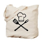 Cook - Chef - BBQ Tote Bag